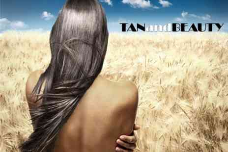Tan and Beauty On - Brazilian Blow Dry Cut and Style - Save 81%