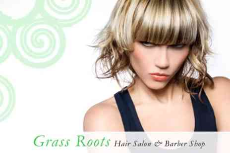Grass Roots Hair Salon - Full Head Foils With Cut and Finish - Save 65%