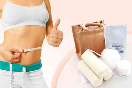 Beautiastic - £19 for an Organic Inch Loss Slimming Wrap Kit - Save 76%