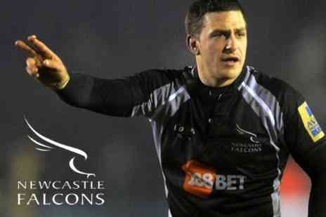 Newcastle Falcons - Ticket to Choice of Newcastle Falcons Matches Plus Programme - Save 50%