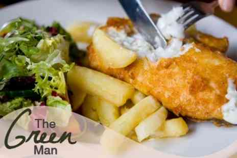 The Green Man - £16 for £40 Worth of Home Made Cuisine at The Green Man - Save 60%
