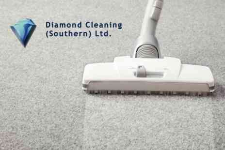 Diamond Cleaning - Carpet Cleaning For Two Rooms Plus Stairs or Hallway - Save 68%
