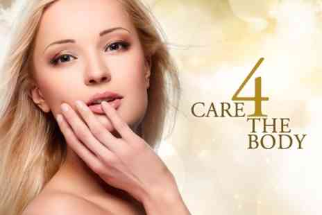 Care 4 The Body - Three 60 Minute Sessions For Face Neck and Dcolletage - Save 67%