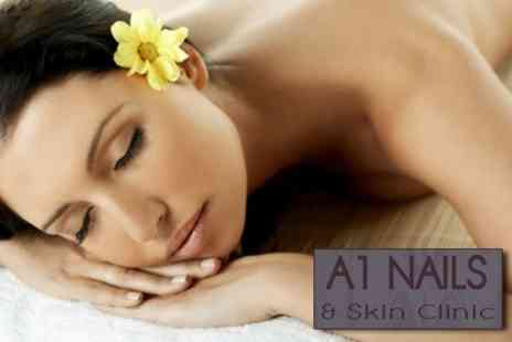 A1 Nails and Skin Clinic - Luxury Facial With Back Shoulder and Neck Massage - Save 69%