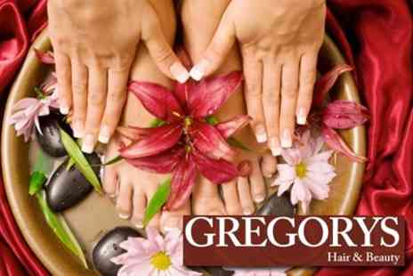 Gregorys Hair & Beauty - Luxury Thai Pedicure With French Manicure - Save 57%