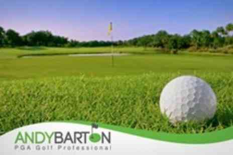 Andy Barton Golf Academy - Two 60 Minute Golf Lessons With a PGA Professional Including Video Analysis - Save 64%