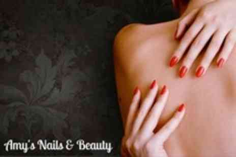Amy's Nails & Beauty - Shellac Manicure and Pedicure - Save 67%