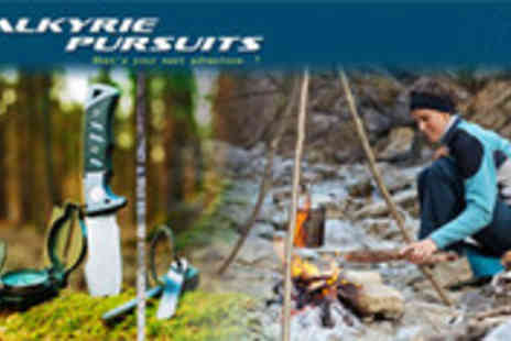 Valkyrie Pursuits - Bush craft and survival skills weekend retreat - Save 57%