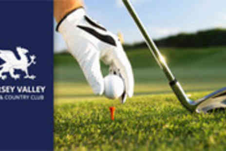 Mersey Valley Golf Club - 18 holes of golf for two people plus a warming winter meal - Save 59%