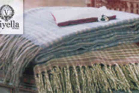 Luxury Home Linens - Choice of luxury throws - Save 74%