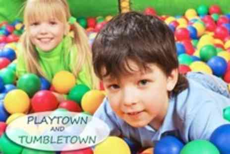 Playtown - Soft Play Party For Up to Ten Children With Buffet - Save 60%
