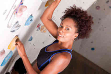 Rock Over Climbing - Bouldering experience including induction, 1 year membership & 2 climbs - Save 67%