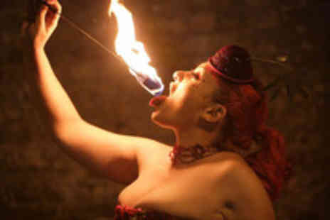 The Fire School - 2 Hour fire manipulation course including fire eating - Save 53%