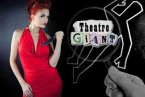 Theatre Giant - Murder Mystery Evening For One With Three Course Dinner and Drink Each - Save 29%
