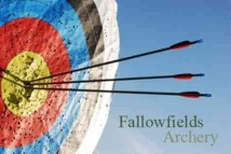 Fallowfields Falconry - Two Hour Introduction to Archery - Save 80%