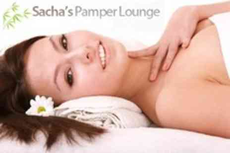 Sachas Pamper Lounge - Three Beauty Treatments Such as Mini Facial, Manicure and Massage - Save 26%