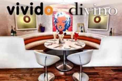 Divino and Vivido - Seven Course Italian Tasting Menu For Two - Save 20%