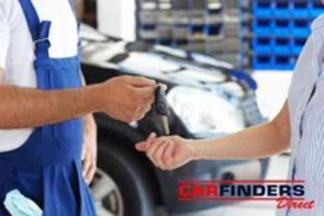Carfinders Direct - Interim or Full Vehicle Service 35 or 60 Point Check Plus Oil and Filter Change - Save 80%