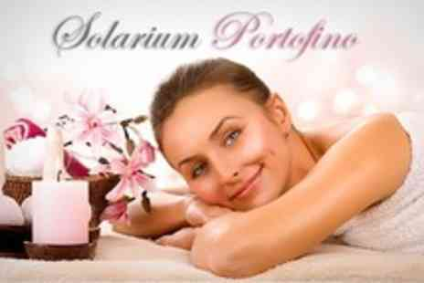 Solarium Portofino - Indian Head or Back Massage Plus Facial  - Save 50%