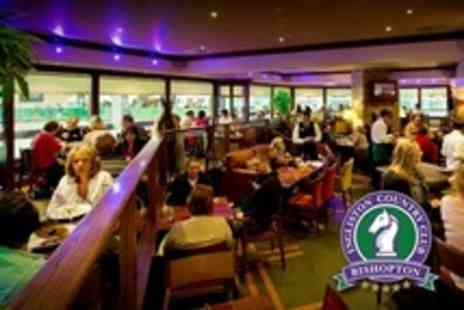 Ingliston Country Club - Italian For Two Pizza or Pasta With Wine - Save 55%