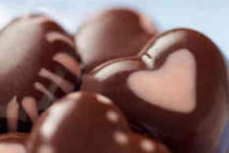 The Cocoa Box - Valentines Chocolate Truffle Workshop for Two - Save 52%