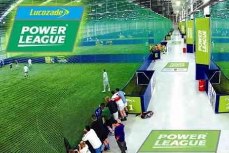 Lucozade Powerleague - 5 a Side Pitch Hire for £17.50 (Value £63.95) - Save 73%