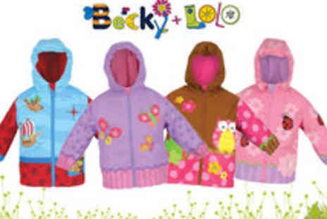 Becky and Lolo - Stylish and Fun Childrens Raincoats - Save 50%