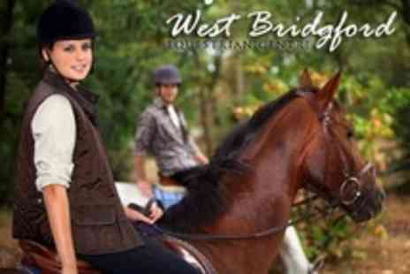 West Bridgford Equestrian Centre - Two Horse Riding lessons With Refreshments - Save 88%