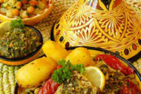 Marrakesh Moroccan Bar - Two Course Moroccan or Lebanese Meal for Two - Save 54%