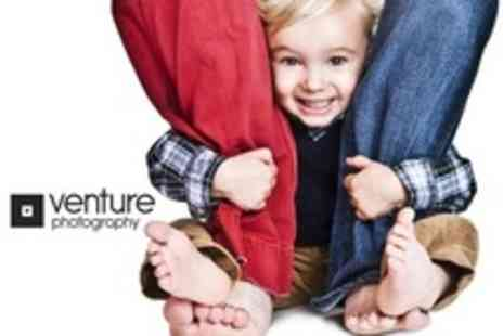 Venture Photography Liverpool - Family Photoshoot Plus Prints  - Save 94%