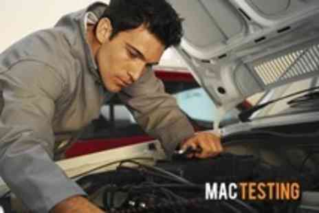MAC Testing - Car MOT Plus Mini Valet - Save 56%
