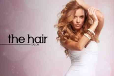 The Hair Salon - Half Head Highlights Plus Cut and Finish - Save 34%