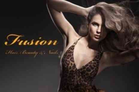 Fusion Hair, Beauty and Nails - Cut or Restyle With Conditioning Treatment - Save 66%