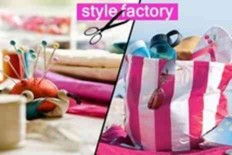 The Style Factory - Make Your Own Beach Bag Course For One - Save 69%