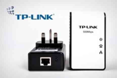 Retail Outlet - TP LINK 500Mbps Powerline Adapter Starter Kit - Save 14%