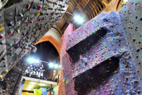 Manchester Climbing Centre - Three 2 Hour Beginners' Indoor Climbing Sessions - Save 61%