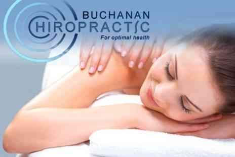 Buchanan Chiropractic - Three Chiropractic Sessions With Initial Consultation - Save 78%