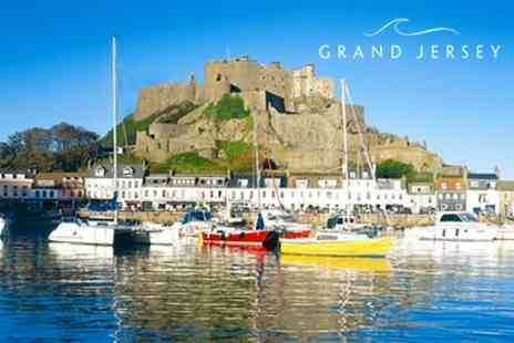 Grand Jersey - Two Night Stay For Two With Bubbly, Breakfast and Access To Spa Facilities - Save 72%