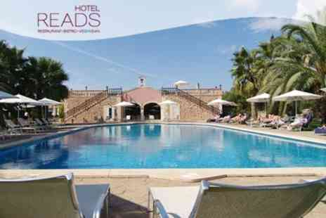 Hotel Reads - Majorca: Four Night Stay For Two With Buffet Breakfast and Massage Each at The 5* Reads Hotel - Save 70%