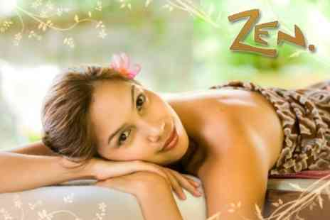 The Zen Shop - Luxury Facial or Choice of Five Massages, Plus Reiki - Save 71%