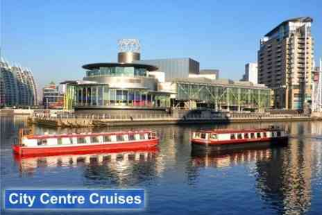City Centre Cruises - Three Hour Lunch Cruise Around Media City With Three Course Meal for Six - Save 66%