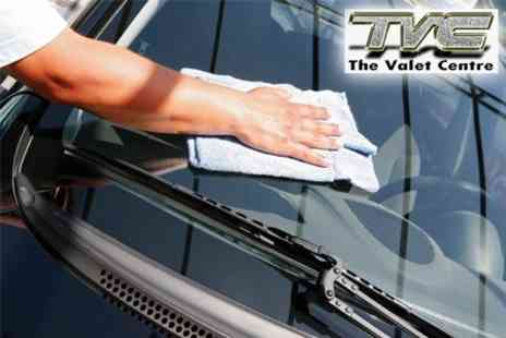The Valet Centre - Three Stage Car Valet with Autoglym Wax and Water Repellent Treatments - Save 60%