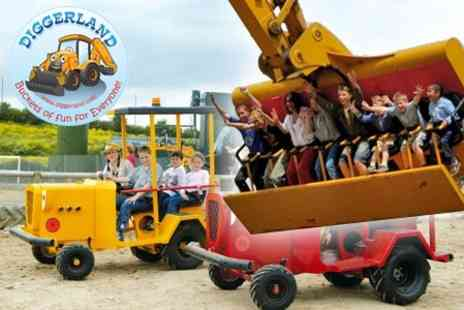 Diggerland - Ticket to Adventure Park - Save 53%