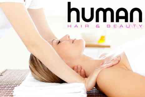 Human Hair & Beauty - One Hour Swedish Massage - Save 65%