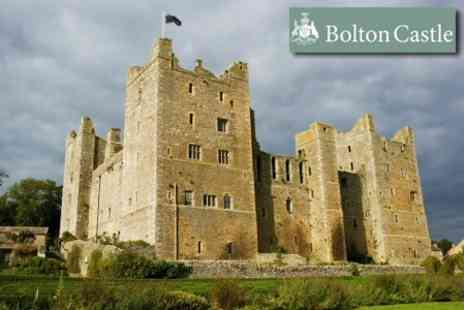 Bolton Castle - Season Ticket For Two - Save 65%