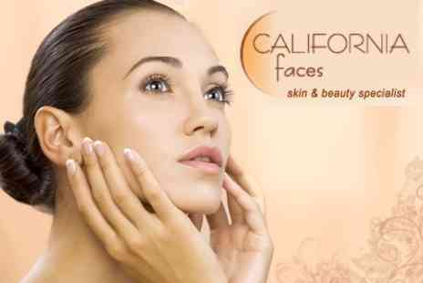 California Faces - Facial Thread Veins Skin Tag Mole or Wart Removal - Save 60%