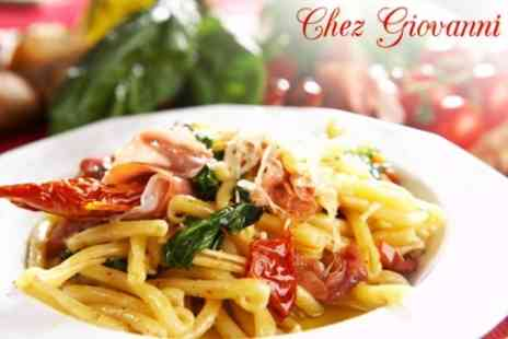 Chez Giovannis - Authentic Italian Fare For Two - Save 60%