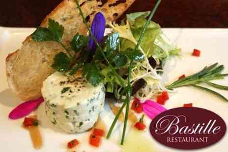 Bastille Restaurant - Two Course French Lunch For Two With Wine - Save 61%