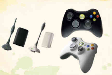 Bluebud - Two play and charge kits for your X-Box 360 controllers from Bluebud - Save 63%