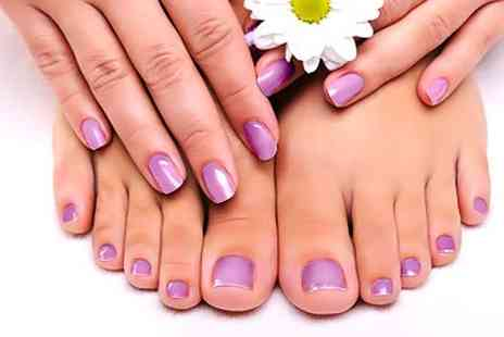 Beauty Solutions - Gelish Fingers and Toes - Save 73%